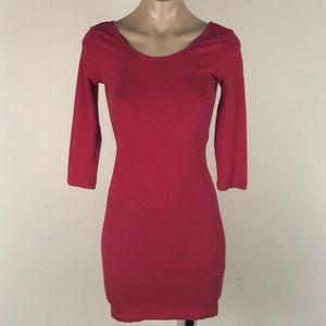 ⭐️ 3/$20 FOREVER 21 RED MINI DRESS SIZE MEDIUM